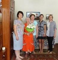 Поздравление долгожителей района. 05.07.2019 года отметила свое 90-летие Шушарина Парасковья Дмитриевна.